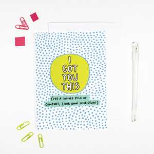 I Got You This Card by Angela Chick