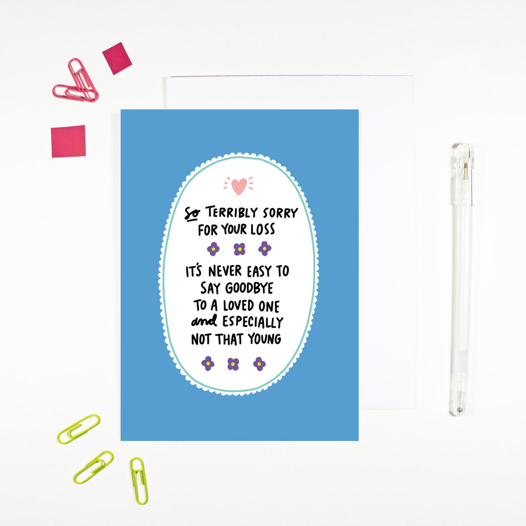 Infant Sympathy Card and Child Sympathy Card by Angela Chick