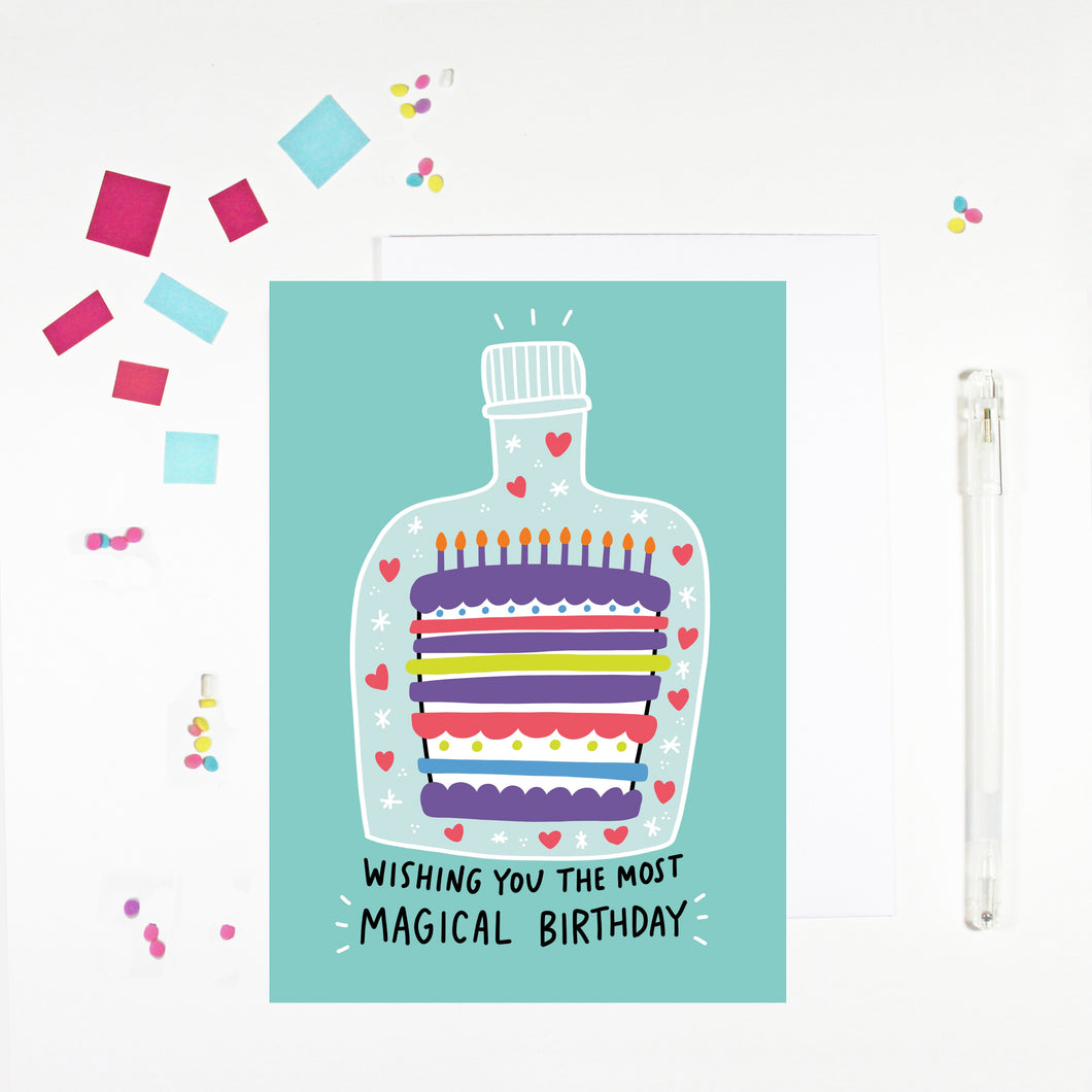 Magical Birthday Card by Angela Chick