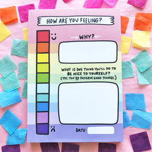 My Mood Tracker Notepad by Angela Chick