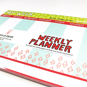 My Week is Bright Weekly Planner by Angela Chick