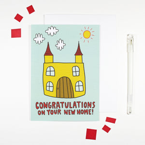 Congratulations New Home Card by Angela Chick