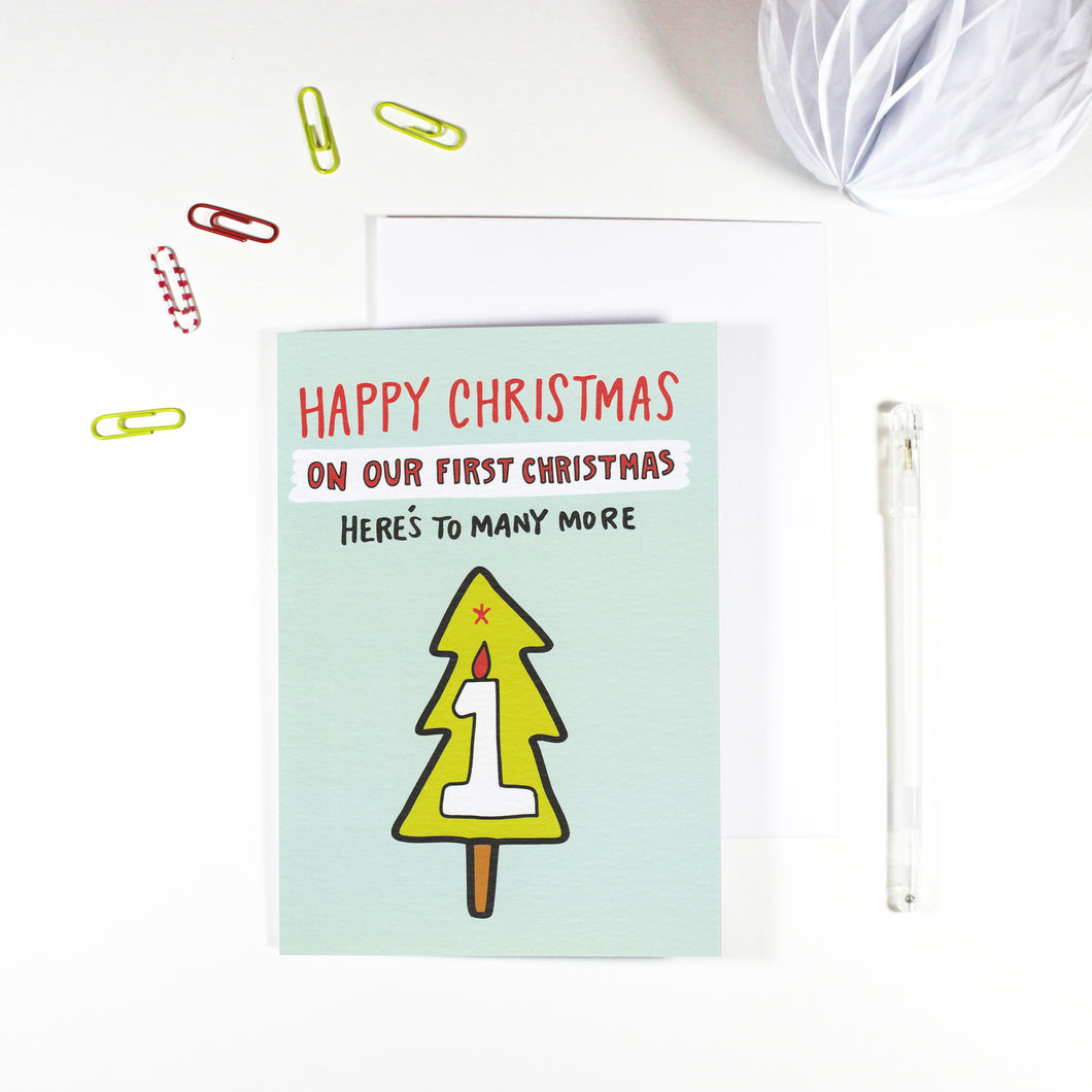 Our First Christmas Together Card by Angela Chick