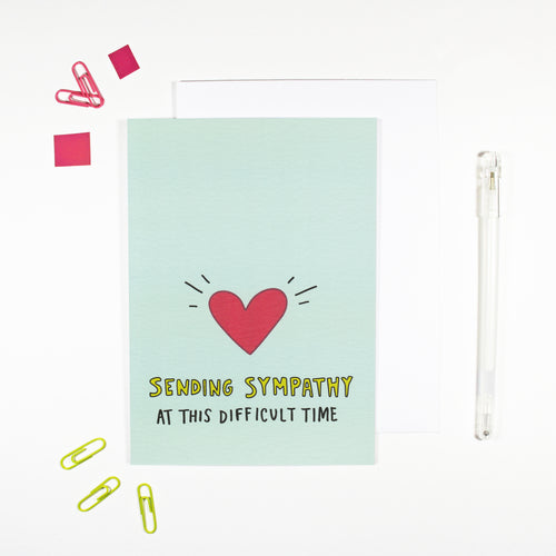 Sending Sympathy Card by Angela Chick