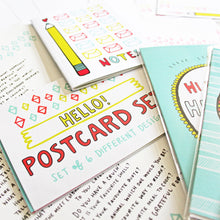 WRITE MORE LETTERS Stationery Set by Angela Chick