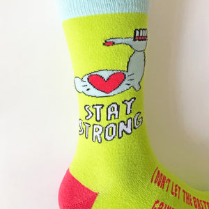 Stay Strong Socks