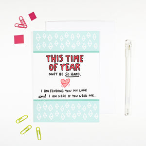This Time of Year Card by Angela Chick