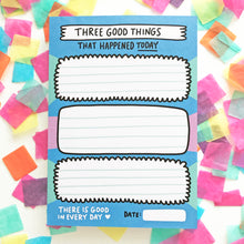 IMPERFECT Three Good Things Notepad