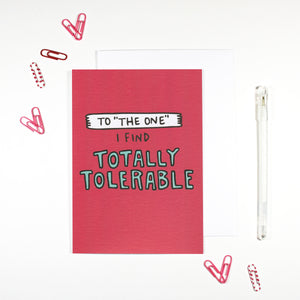 Totally Tolerable Card by Angela Chick