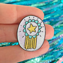 Gold Star Pin by Angela Chick