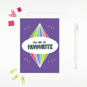 You Are My Favourite Card by Angela Chick