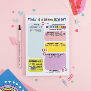 Brand New Day Notepad