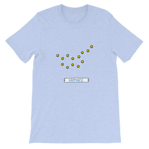 Happiness Short-Sleeve Unisex T-Shirt