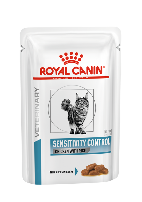 Royal Canin Cat Sensitivity Control Chicken with Rice  (NEW DERMA RANGE)