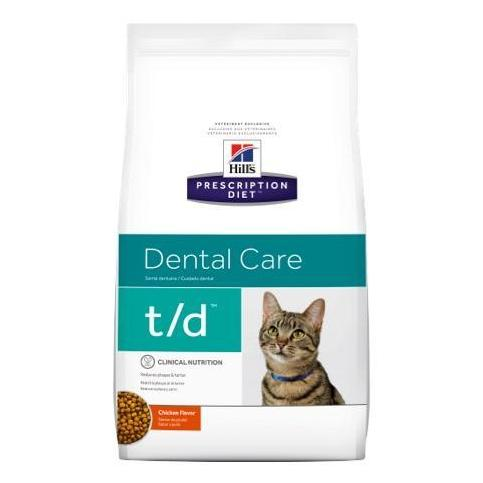 Pet Vet Clinic Singapore Buy Online - Hill's Prescription Diet t/d for Plaque and Dental Care in Cats