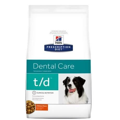 Pet Vet Clinic Singapore Buy Online - Hill's Prescription Diet t/d for Plaque and Dental Care in Dogs
