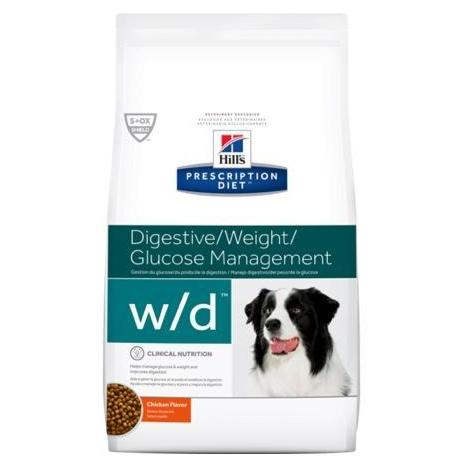 Pet Vet Clinic Singapore Buy Online - Hill's Prescription Diet w/d for Digestive, Weight, and Glucose Management in Dogs prone to unhealthy weight gain