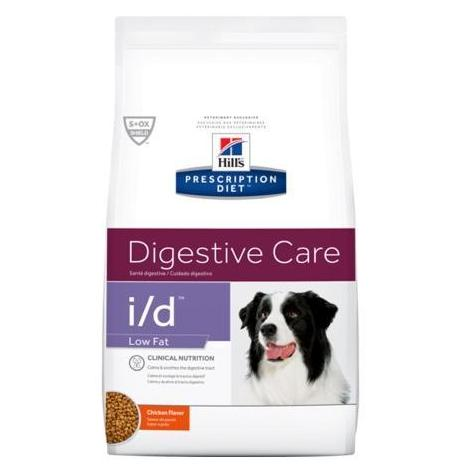 Pet Vet Clinic Singapore Buy Online - Hill's Prescription Diet i/d Low Fat for Food Sensitivities and Digestive Upset in Dogs. Free of wheat, gluten, soy protein & lactose