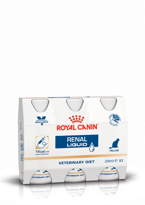 Royal Canin Cat Renal Liquid Cluster Packshot