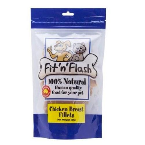 Pet Vet Clinic Singapore Buy Online - Fit n Flash Chicken Breast Fillets Low Fat Treat for Dogs and Cats