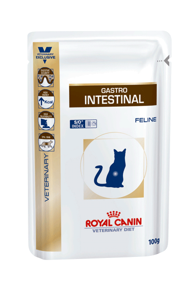 Royal Canin Gastro-Intestinal Pouch for Cats 100g