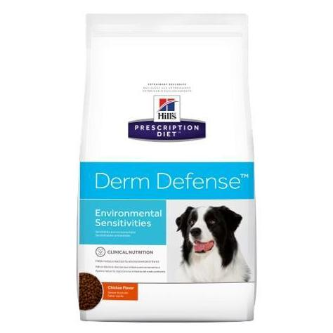 Pet Vet Clinic Singapore Buy Online - Hill's Prescription Diet Derm Defense for Sensitivities and Irritants that cause itching and scratching in Dogs