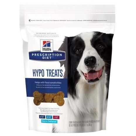 Pet Vet Clinic Singapore Buy Online - Hill's Prescription Diet Hypo Treats for Dogs with Food Sensitivities and Skin Conditions