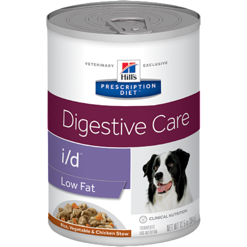 Pet Vet Clinic Singapore Buy Online - Hill's Prescription Diet i/d Low Fat Chicken and Vegetable Stew Wet Canned Food for Food Sensitivities and Digestive Upset in Dogs. Free of wheat, gluten, soy protein & lactose