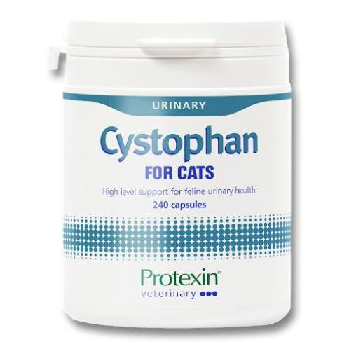 Pet Vet Clinic Singapore Buy Online - Protexin Cystophan to support the protective glycosaminoglycan (GAG) layer of the bladder in Cats. Contains L-tryptophan