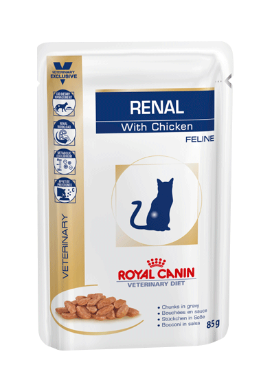 Royal Canin Renal with Chicken Pouch for Cats