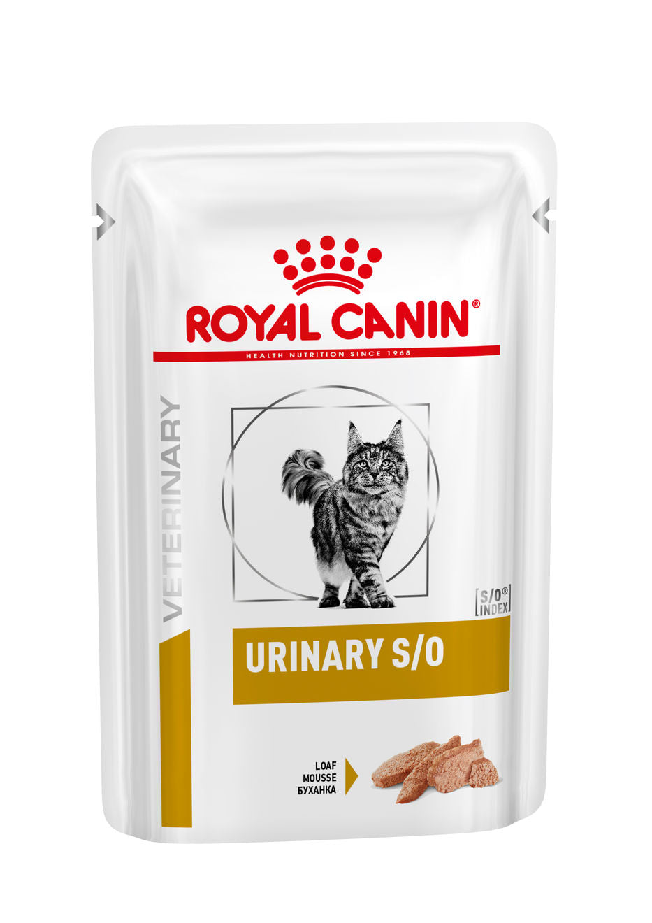 Royal Canin Urinary S/O with Chicken Pouch(Loaf) for Cats