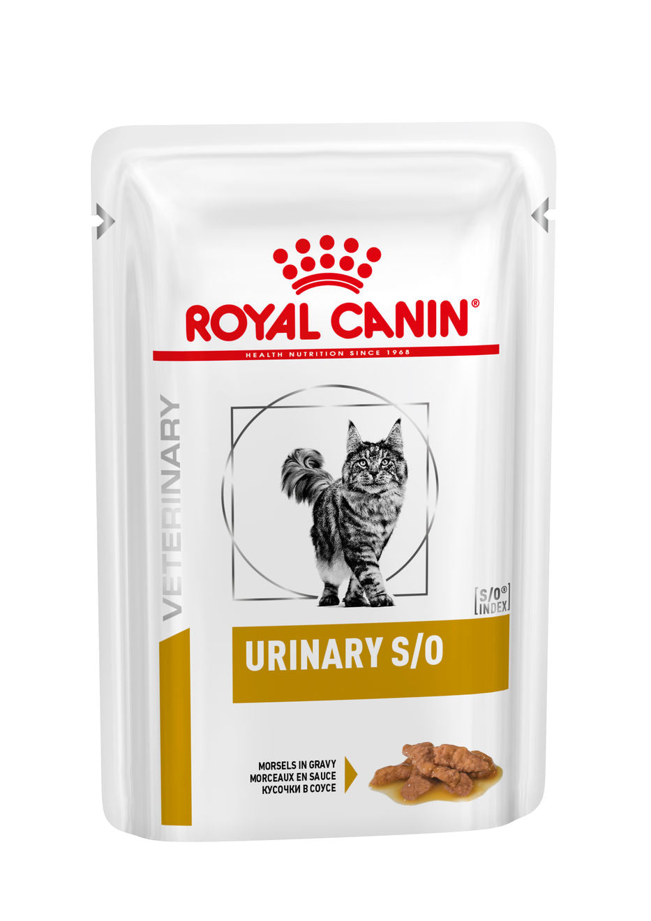 Royal Canin Urinary S/O with Chicken Pouch(Morsels) for Cats