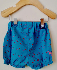 Blue bloomers