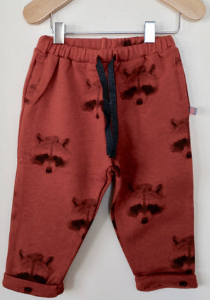 Raccoon sweat pants