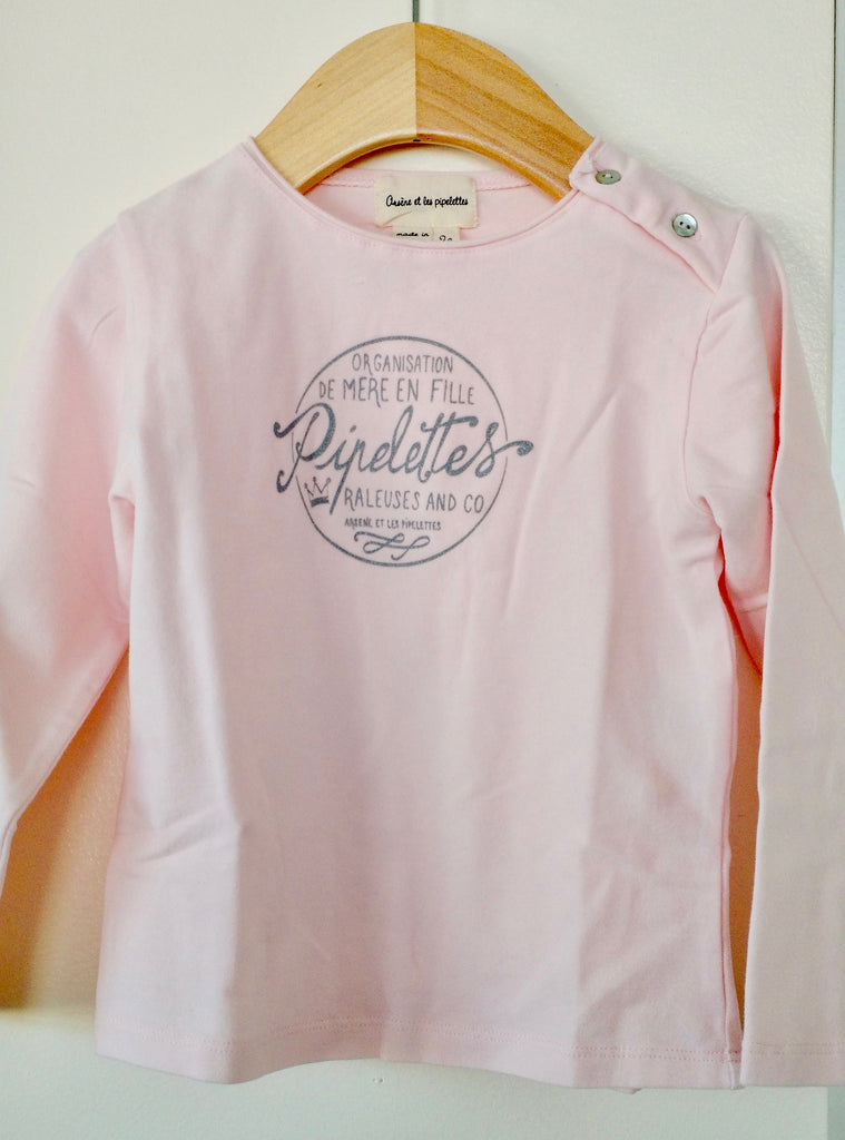 Long sleeves pink
