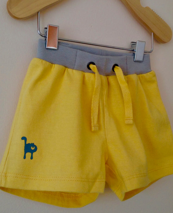 Yellow shorts