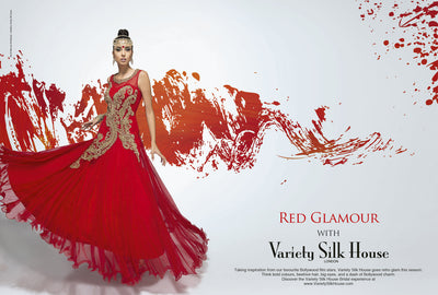 Red Glamour Lookbook