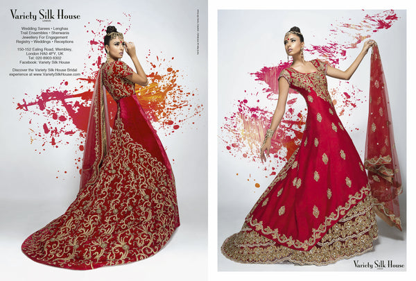 red indian bridal dresses for weddings