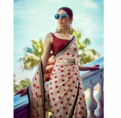 Sabyasachi saree, the perfect Summer inspiration