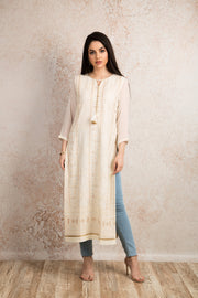 Reshamwork kurti U8_1042 - Variety Silk House Ltd