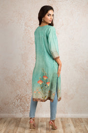 Printed Kurti V8_1157P - Variety Silk House Ltd