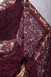 Chantilly lace lurex 16539A - Variety Silk House