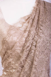 Chantilly lace lurex 16539B - Variety Silk House Ltd