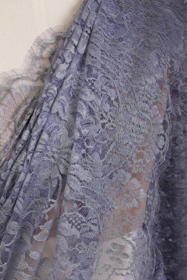 French Lace Saree 21778G_Q - Variety Silk House