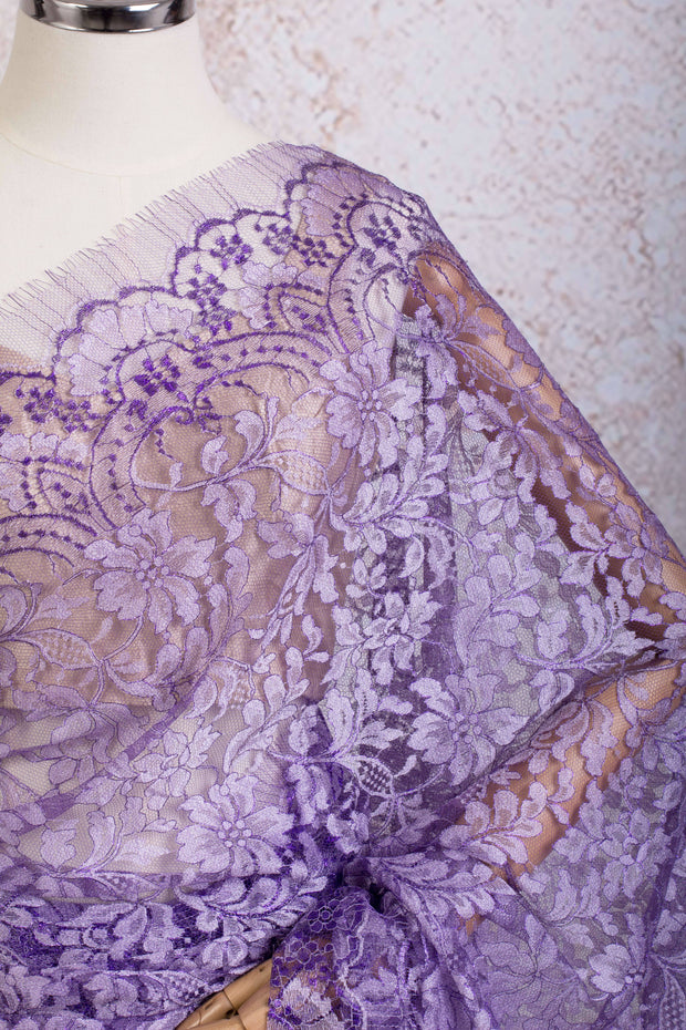 Chantilly Lace metallic 21789G_D - Variety Silk House