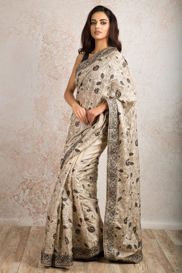 KantaWork Saree R8_496 - Variety Silk House Ltd