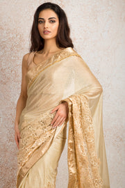 Shimmer embd saree N8_359 - Variety Silk House Ltd