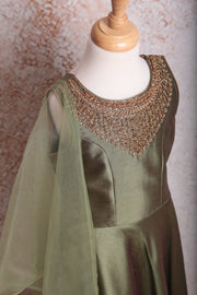 Emb Anarkali S8_2111 - Variety Silk House Ltd