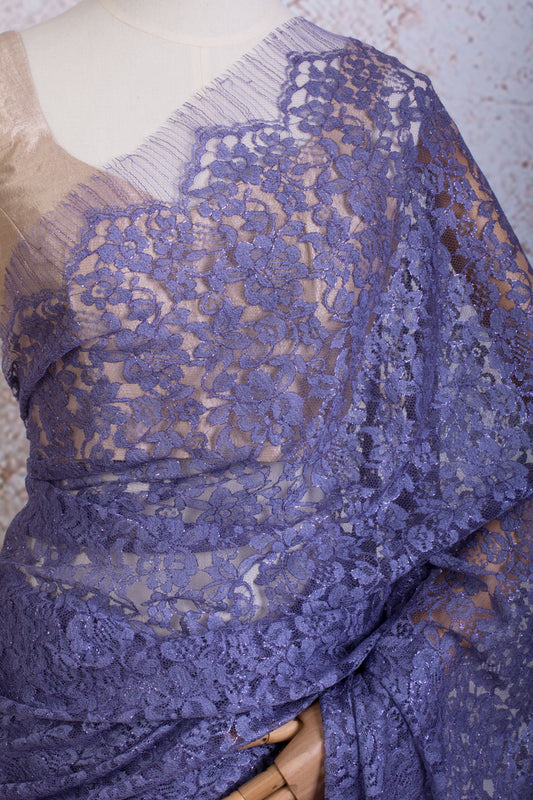 Chantilly Lace metallic 722838G_B - Variety Silk House