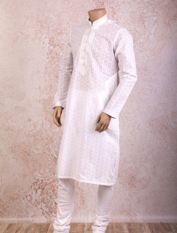 J8/CK101 Chickan Kurta with Churidar - Variety Silk House